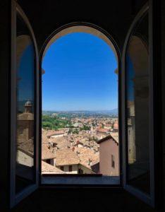 Vista panoramica di Spoleto