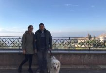 Io, Vittoriano e Norman ad Assisi